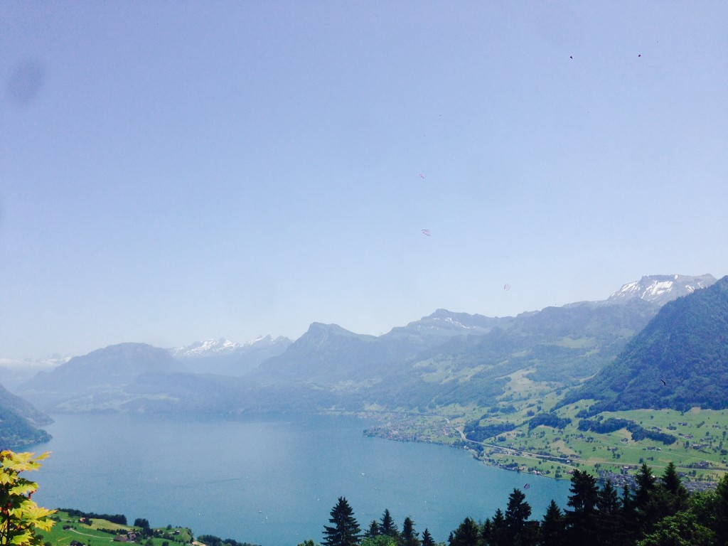 View on Lake Lucerne
