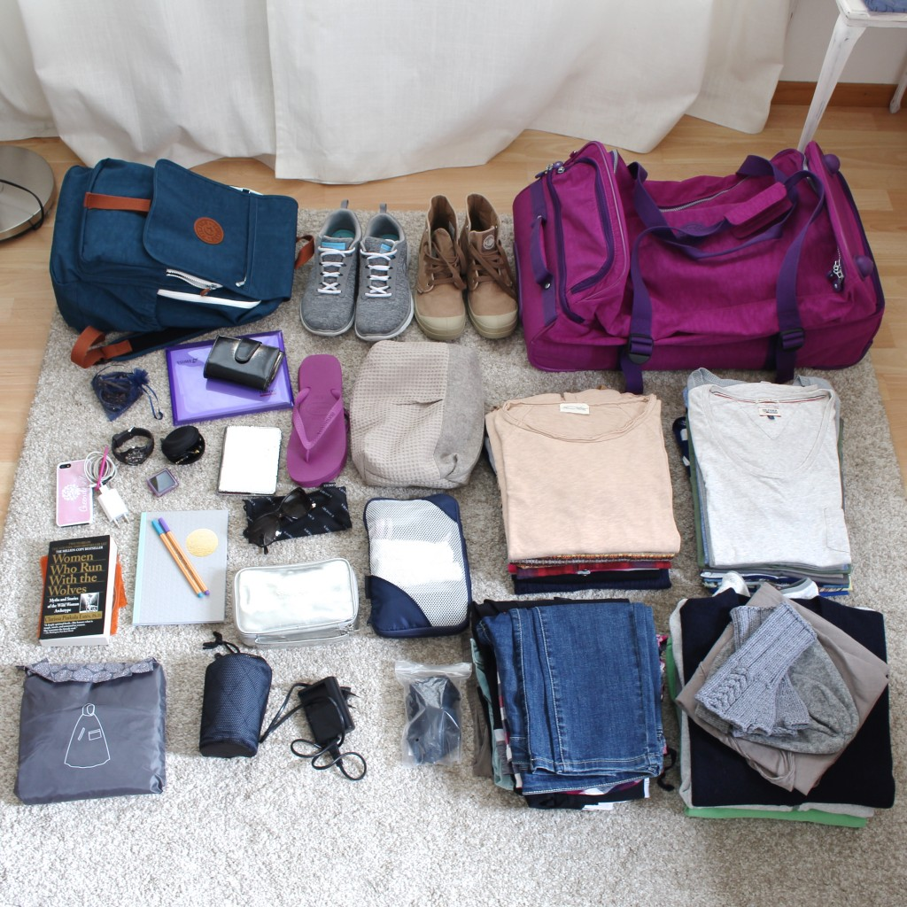 Packing for the trip