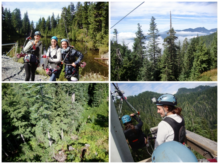Zip Lining, Gouse Mountain (photo credit: anna)